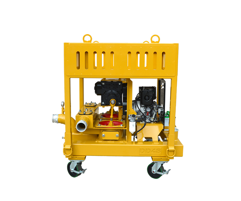 Double Diaphragm-4S Barge High Volume Pump
